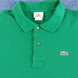 Authentic Lacoste Men's waffle knit Large Polo